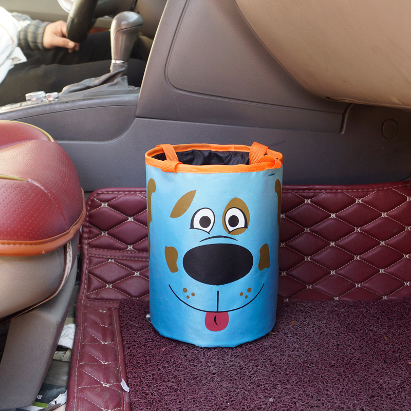 Car Trash Bin Auto Organizer Storage Box Car Trash Can Rubbish Garbage Holder Seat Back Bag Bucket Accessories in Car Trash from Automobiles Motorcycles