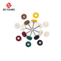 80Pcs Grinding Head Nylon Fiber Wool Cotton Buffing Polishing Wheel For Dremel Accessories