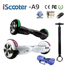 Hot Iscooter Bluetooth 6.5 Inch Hoverboard 2 Smart Steering-wheel Electric Skateboard Self Balancing Scooter Balance Hover Board стоимость