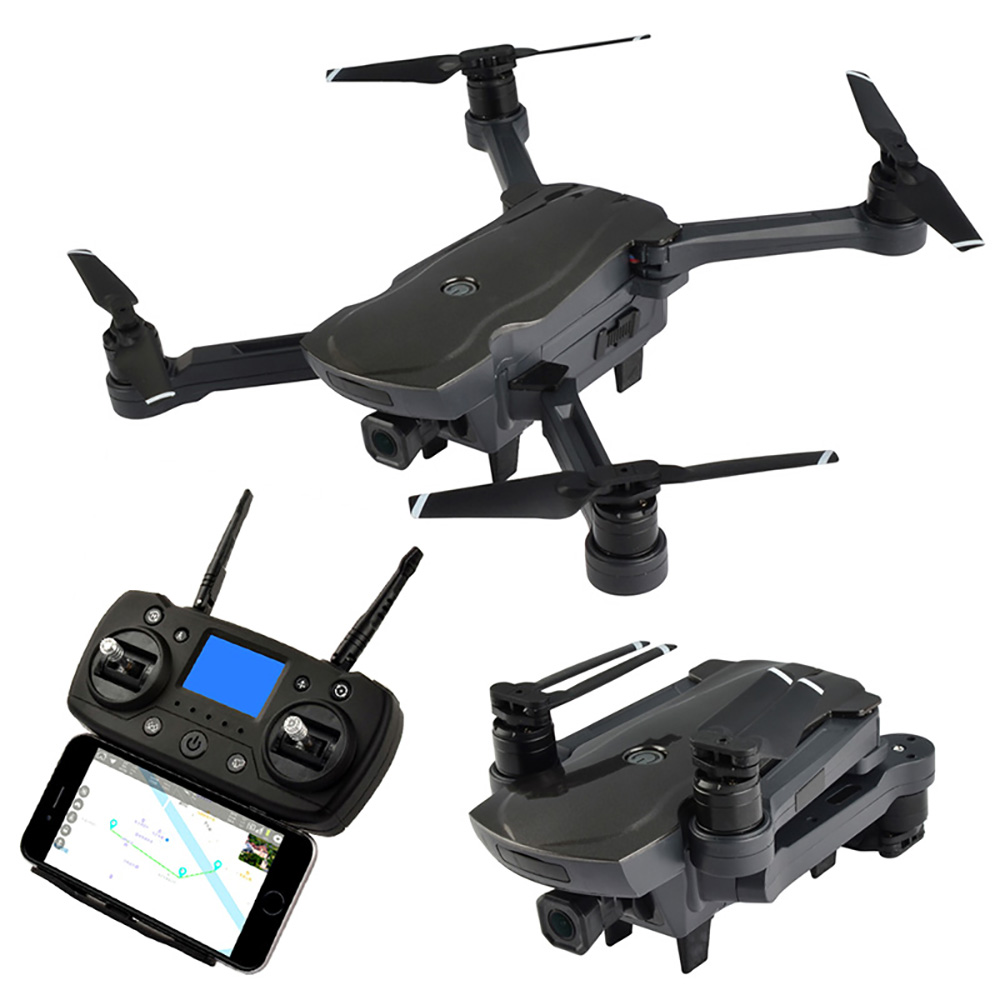 CG033 Quadcopter WiFi FPV w/ HD 1080P 2.0MP Gimbal Camera GPS Brushless Servo Foldable RC Drone Helicopter RTF Kids Gift 2018