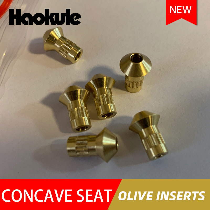 Image 4 - HAOKULE Brake Fitting Concave seat Olive Inserts-in Brake Hoses & Accessoires from Automobiles & Motorcycles