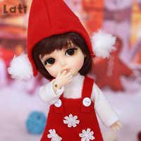 Conjunto completo de muñecas BJD Lati Yellow para niñas, juguetes para niñas, paquete de muñecas BJD Lati Yellow Haru Gilly Byurl Cho Sunny Coco 1/8 YoSD