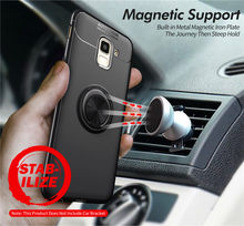 For Samsung J4 J6 J8 2018 Case J6 Plus J610F Cover Silicon Case For Galaxy J6Plus J610F Soft TPU Case Magnetic Car Holder Ring аксессуар чехол zibelino для samsung galaxy j6 plus j610f 2018 book red zb sam j610f red