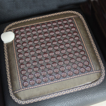 Healthcare Korea Germanium Tourmaline Mix Jade Mattress Electric Heating Therapy Pad Cushion Massager