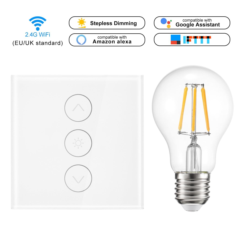 Smart Light Switch Wireless Wall Interruptor Touch Control