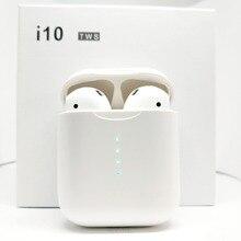 I10 СПЦ Новый Беспроводной Bluetooth 5,0 сенсорный наушник наушники с загрузочной коробки микрофон для Iphone6, 8, X samsung Android Xiaomi я 11tws