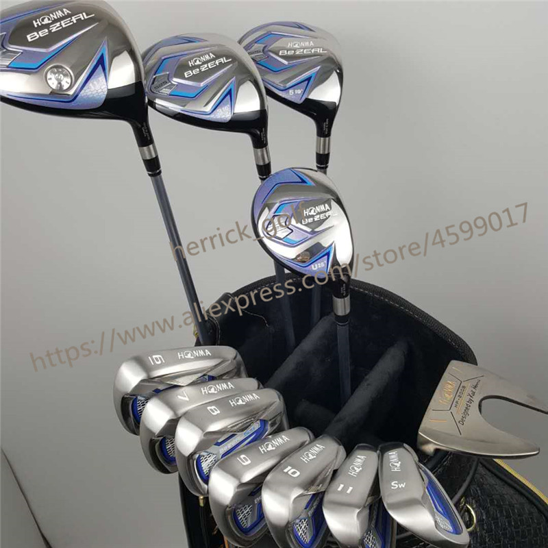 Women's golf clubs HONMA BEZEAL 525 Golf Irons Ms. Golf Club Graphite Golf Club L Bending NO  bag Free Shipping-in Golf Clubs from Sports & Entertainment