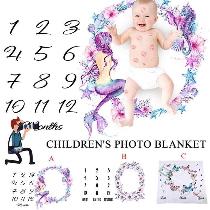 Красивые Детские памятные простыни Детское покрывало для фото маленьких