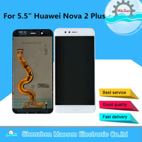 M&Sen For 5.5 Huawei Nova 2 Plus LCD Screen Display Touch Panel Digitizer Display With Frame For Huawei Nova 2 Plus Display Lcd