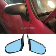 Fit Honda 92-96EG 96-2000 EX Civic 4DR Manual Adjustable Style JDM Side View Mirror