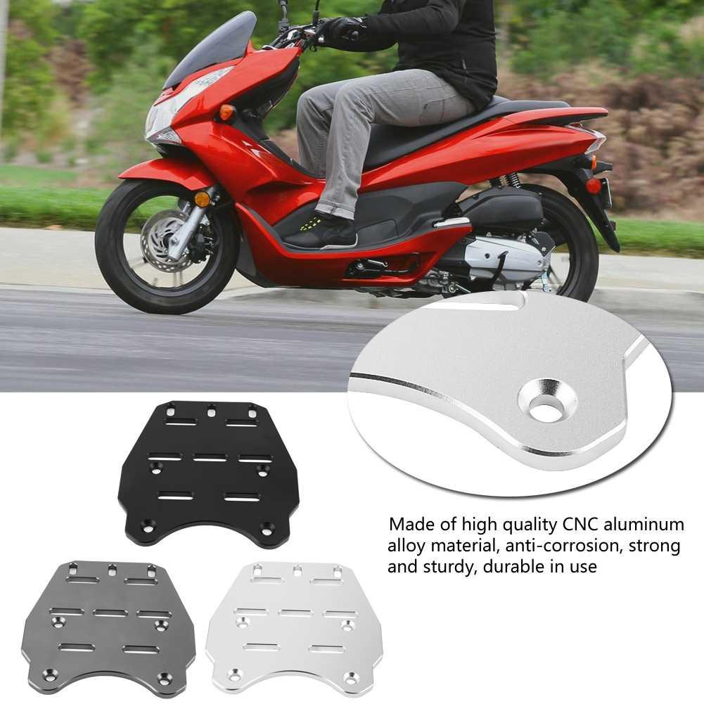 Алюминий сплав мотоцикла задняя багажная полка грузовой держатель Полка для Honda PCX 125 2014 2015 2016 2017 черный/Титан/серебро
