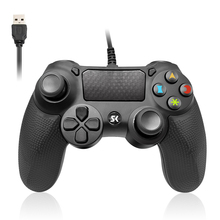 High Quality wired game controller 6Monnths warranty for PS4 joystick Joypad 3 Colors for ps3 gamesir gamepad pc  Black Blue цена