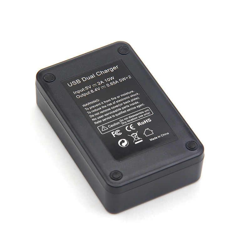 1 Pcs LPE17 LP E17 LP-E17 Battery + LCD Charger untuk Canon EOS 200D M3 M6 750D 760D T6i T6s 800D 8000D Ciuman X8i Kamera Set
