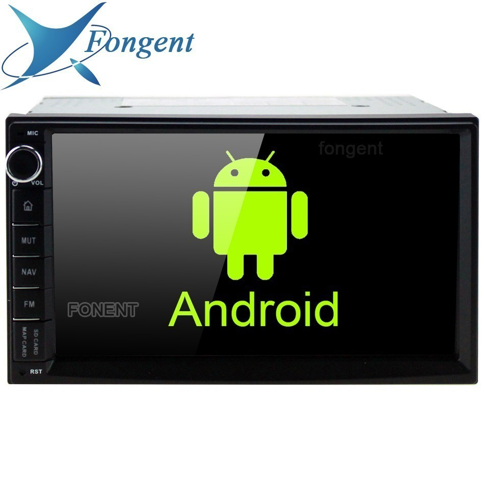 7 HD Digital Capacitive Touch Screen Universal 2 din android 9.0 Octa Core 4G RAM 32G ROM for Nissan Toyota car audio stereo