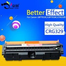 Unidad de tambor/cartucho de tóner CRG329 CRG729 CRG 329 729 129 compatible para Canon color Laserjet LBP7010C 7010 LBP7018C LBP7018