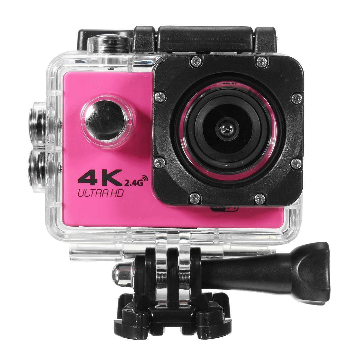 Caméra d'action multicolore F60R Ultra HD 4 K/30fps WiFi 2.0