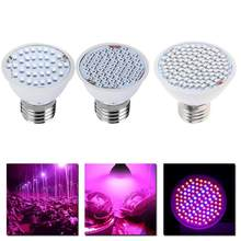 Full Spectrum LED Grow Light 8W E27 500lm Spotlight Lamp Bulb Flower Plant Greenhouse Hydroponics System AC85-265V Grow Box(China)