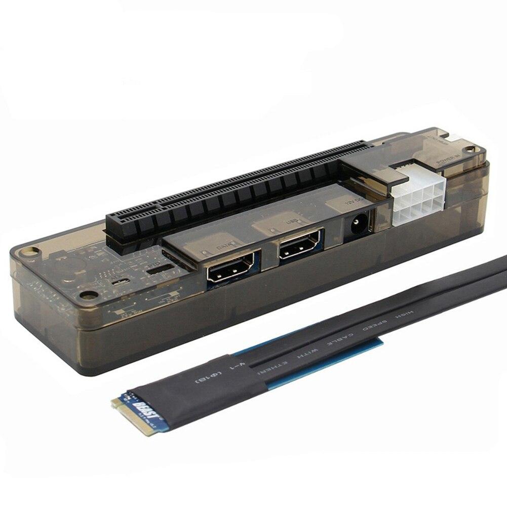 HOT-PCI-E ordinateur portable externe indépendant EXP GDC carte graphique Dock/PCIe ordinateur portable Station d'accueil M.2 M clé Interface Version