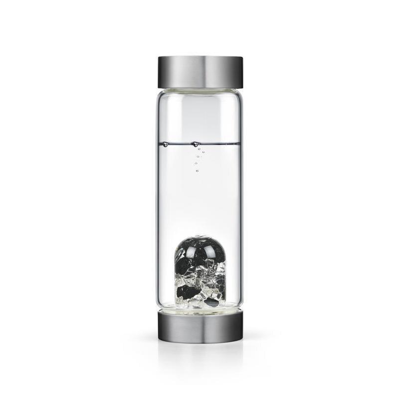 Soffe – bouteille d'eau en cristal naturel, 600ml, avec couvercle, sans Bpa, avec pierres précieuses 3