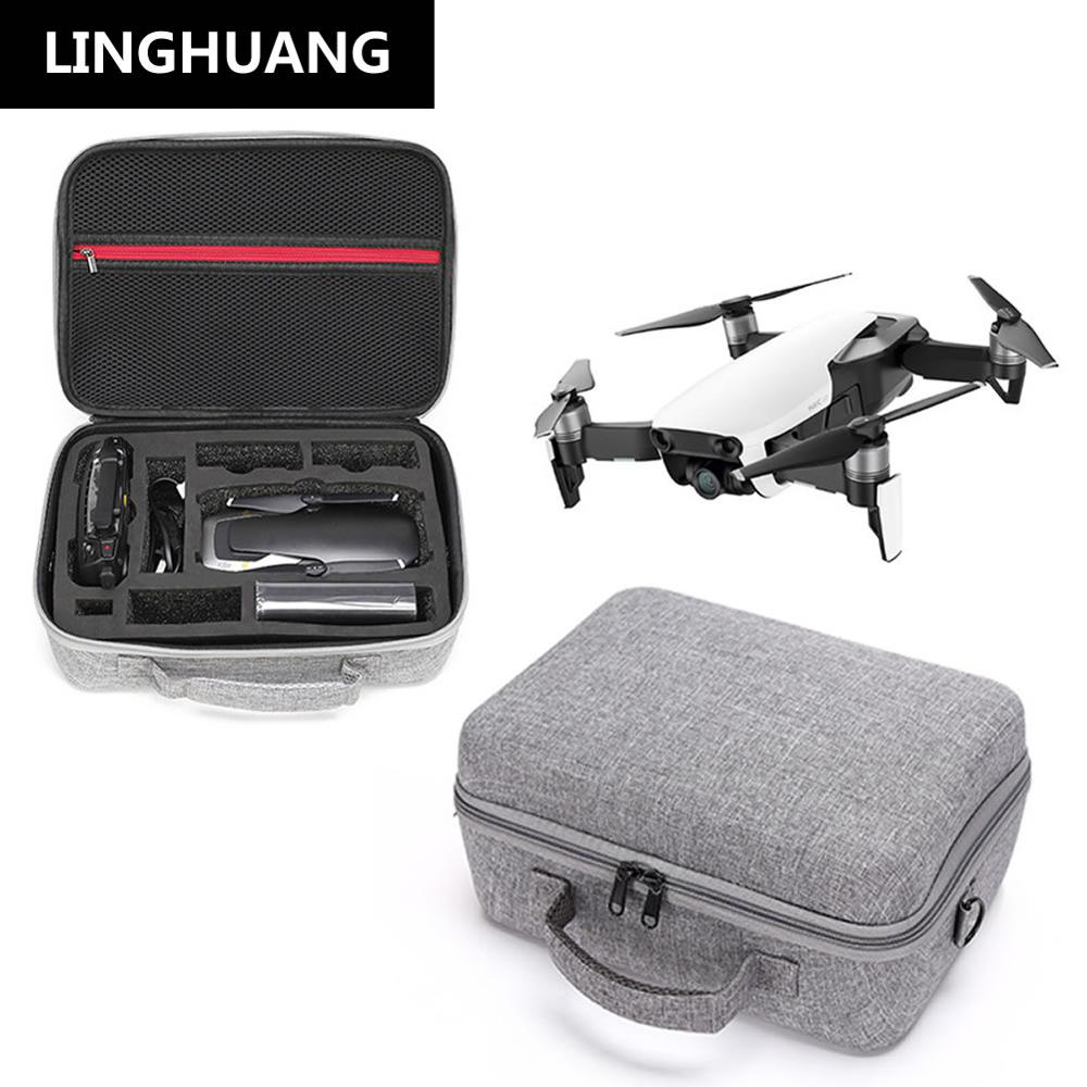 DJI Mavic Air Drone Hardshell Handbag Case Waterproof Storage Bag Suitcase For MAVIC AIR Controller 3 Batteries Accessories Bag