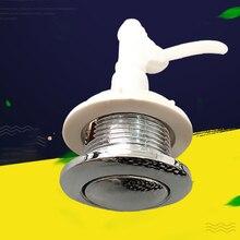 Кнопка домашний отель прочный фитинги для ванной комнаты унитаз цистерна сантехника двойной промывочный пресс тип легко установить гальваническим покрытием