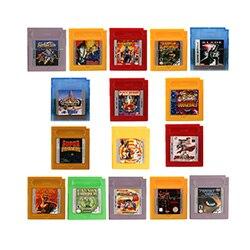 16 Bit Handheld Console Video Game Cartridge Card English Language Version