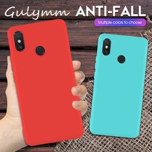 Candy Silicone Phone Case for Xiaomi Redmi Note 7 7Pro On Redmi7  Matte TPU Cover For Global High Quality