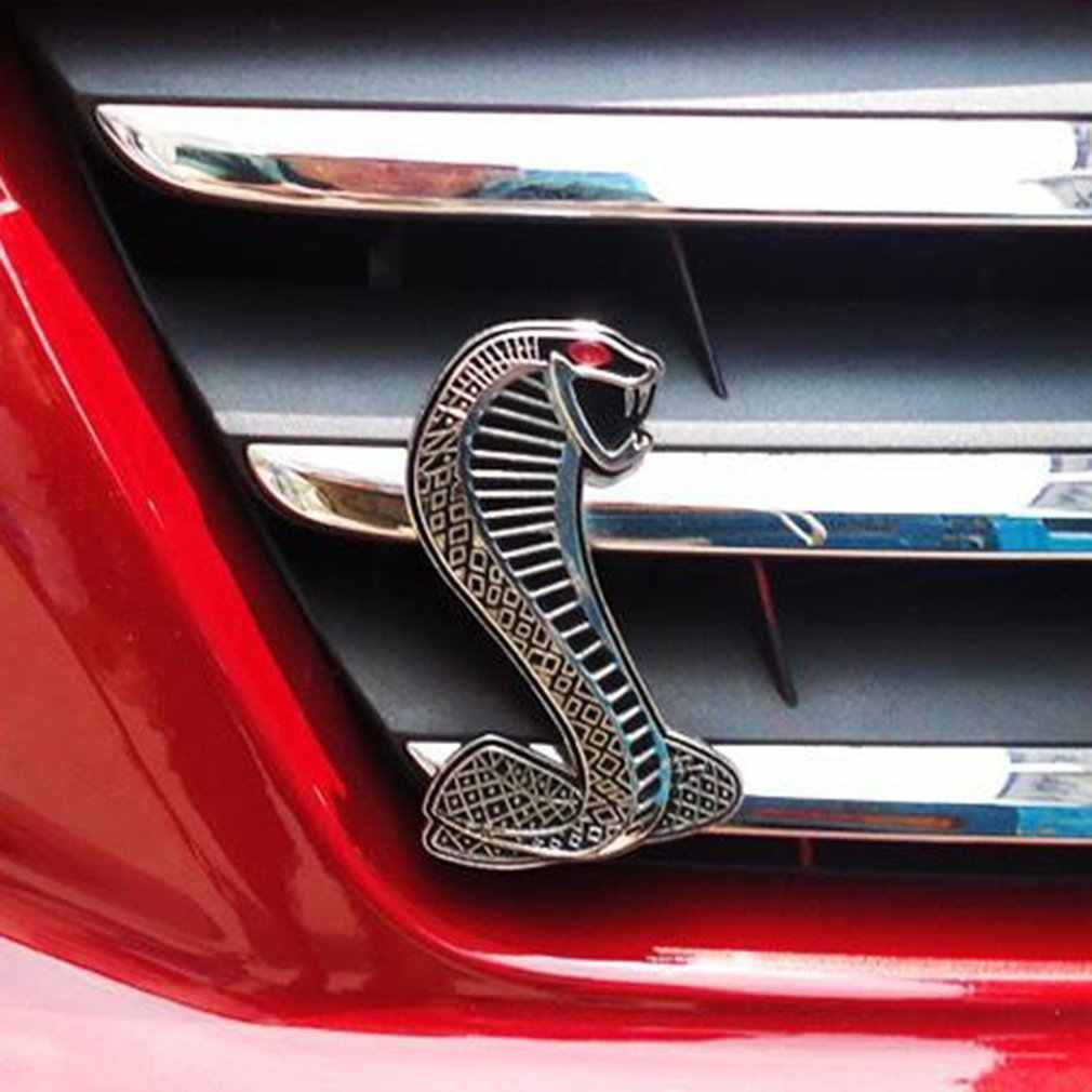 Araba çıkartmaları araba Styling dekorasyon oto çıkartmaları araba kılıfı gövde Cobra etiket temel aksesuarlar