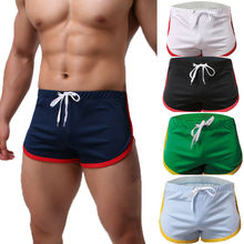 Летняя дышащая мужская спортивная одежда, спортивные шорты для бега, для спортзала, для бега, сна, повседневные короткие штаны