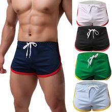 Summer Breathable Mens Sportswear Sports Running Shorts Gym Sports Running Sleep Casual Short Pants