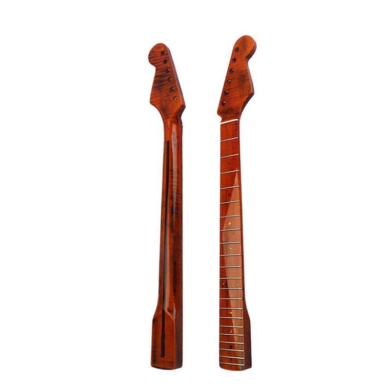 vintage maple guitar neck 21 fret fingerboard fretboard for st strat electric guitar parts. Black Bedroom Furniture Sets. Home Design Ideas