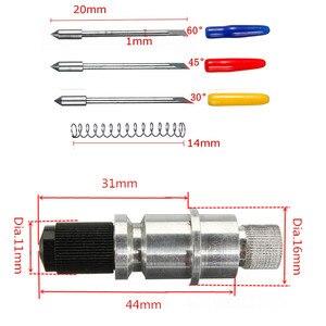 Image 4 - 5 adet 30/45/ 60 derece vinil kesici Plotter bıçakları + bıçak tutucu Graphtec CB09 Tungsten çelik freze kesicisi
