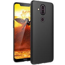 For Nokia 8.1 7.1 Plus Case Silicone Luxury Ultra Thin Slim Matte Soft TPU Phone X71 6.1 4.2 Shockproof