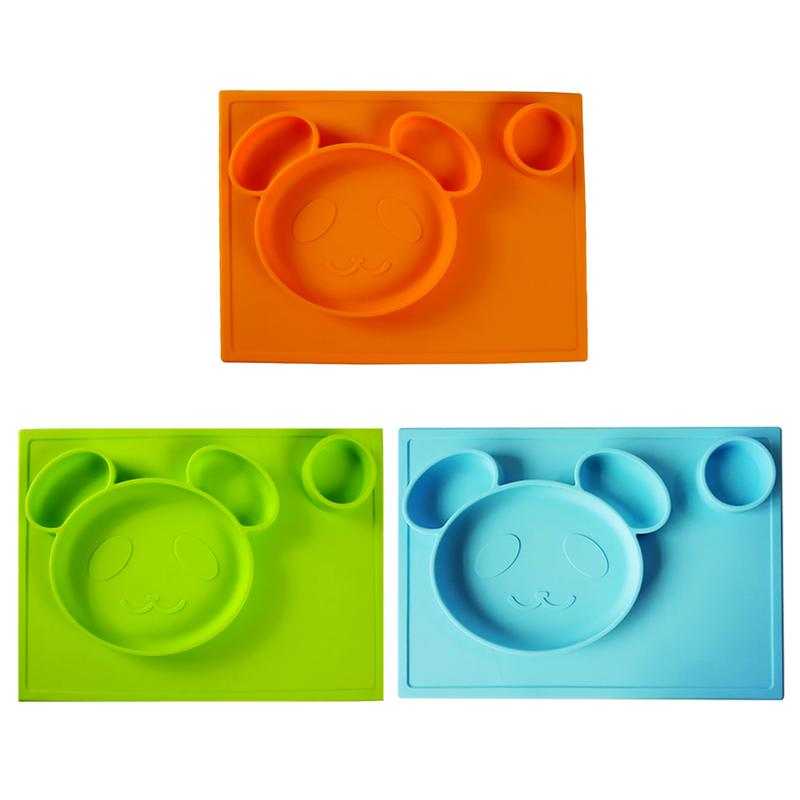 6 Piece Baby Antibacterial Feeding Suction Bowl Set