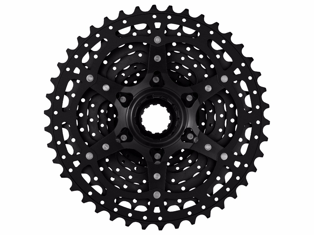 SunRace 11-40/42T 10-Speed BLACK/Champagne MTB Bike Bicycle Cassette fits FORShimano SRAM 1x10 CSMS3 NIB image