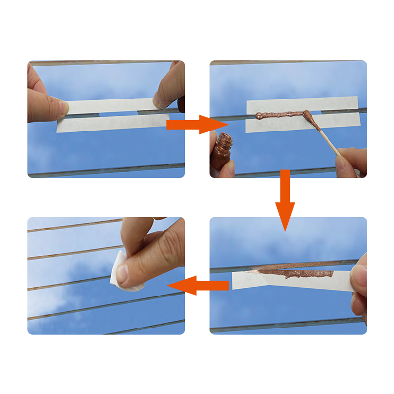 VISBELLA Kit di riparazione defogger lunotto posteriore fai-da-te per - Set di attrezzi - Fotografia 5