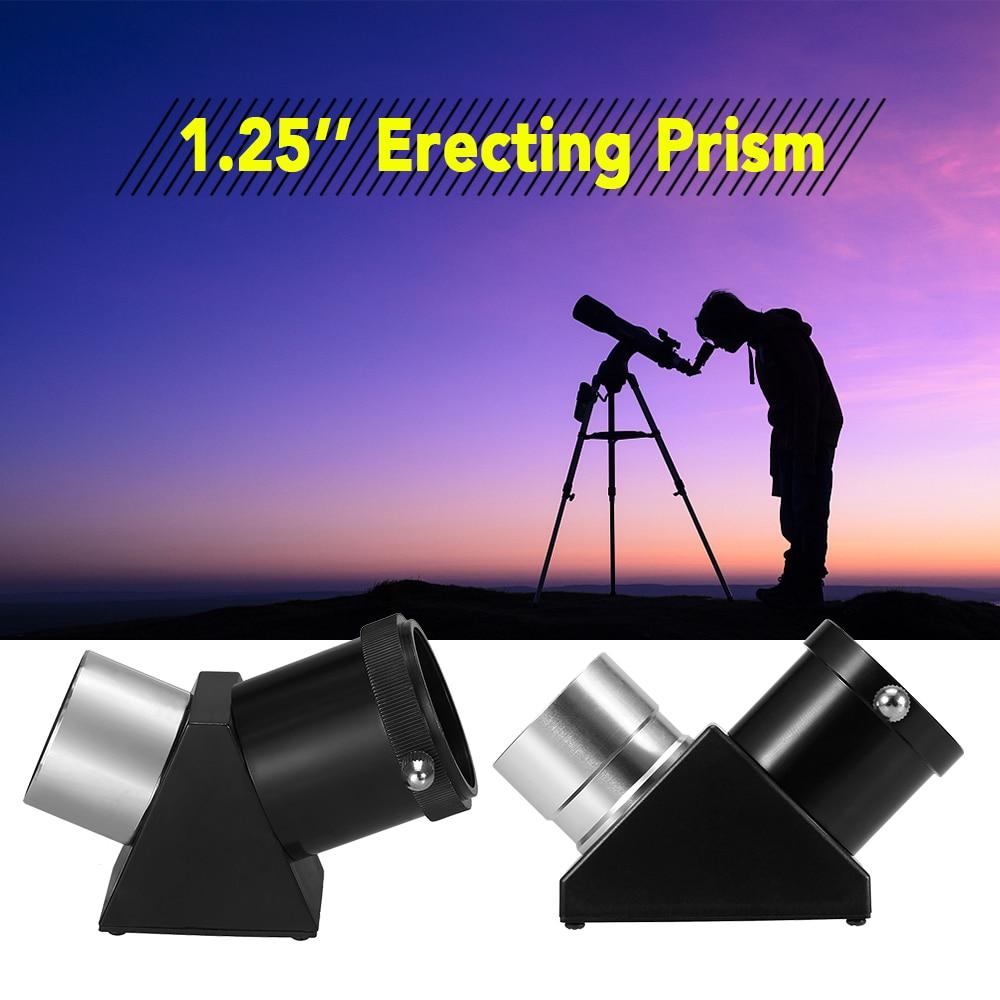 Astronomische Teleskop Okular 45/90 Grad Diagonal Montage Prism 1.25in Spiegel Für Refraktor Cassegrain-teleskop Jagd Jagdoptik