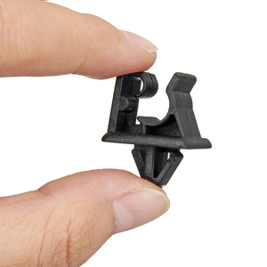 Image 3 - Black Bonnet Hood Prop Support Rod Clamp Clip Kit for Kia for Hyundai 81174 21010 / 8117421010