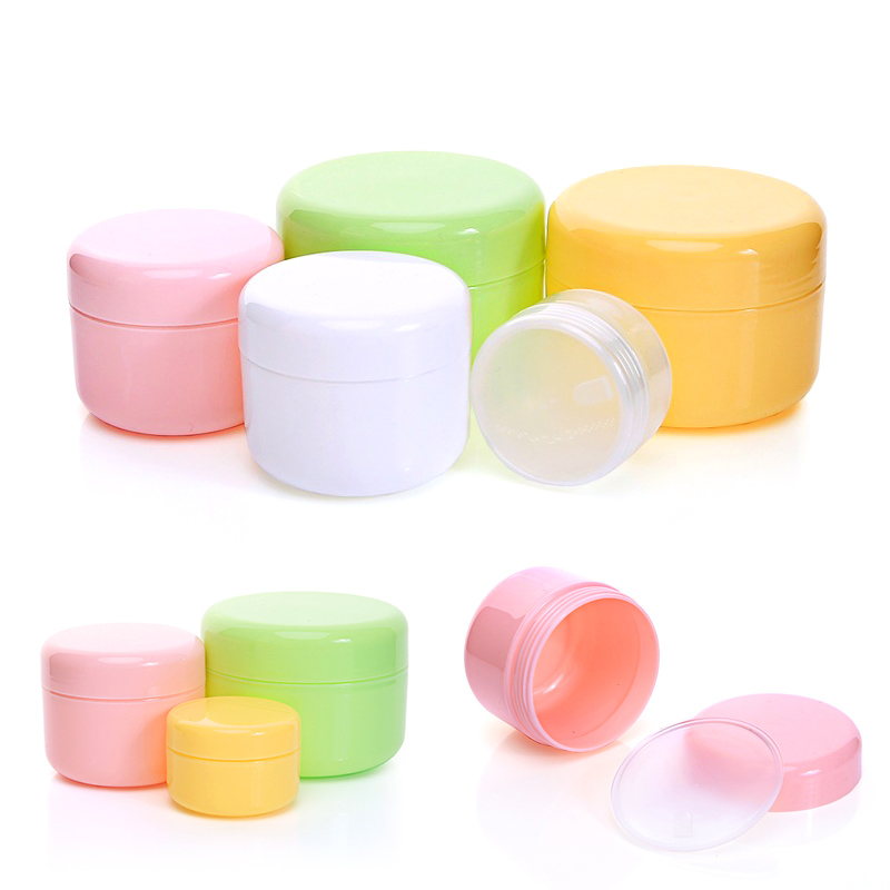 New Hot Sale 1PC 20g/50g/100g Cosmetic Container Face Cream Bottles Lotion Travel Bottle Empty Refillable Plastic Makeup Jar