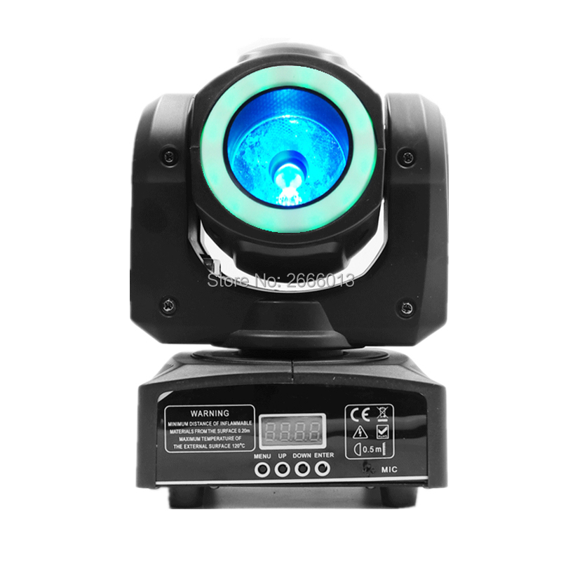 60w Led Beam Moving Head Light With Rgb Led Light Strip,rgbw 4in1 Super Bright Wash Beam Effect Stage Light With Halo For Bar Dj Discounts Sale Stage Lighting Effect
