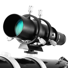 50mm Guide Scope Finderscope with Double Helical Focuser for Astronomical Telescope 183mm 1.25in Focal Length Ratio Guidescope цены