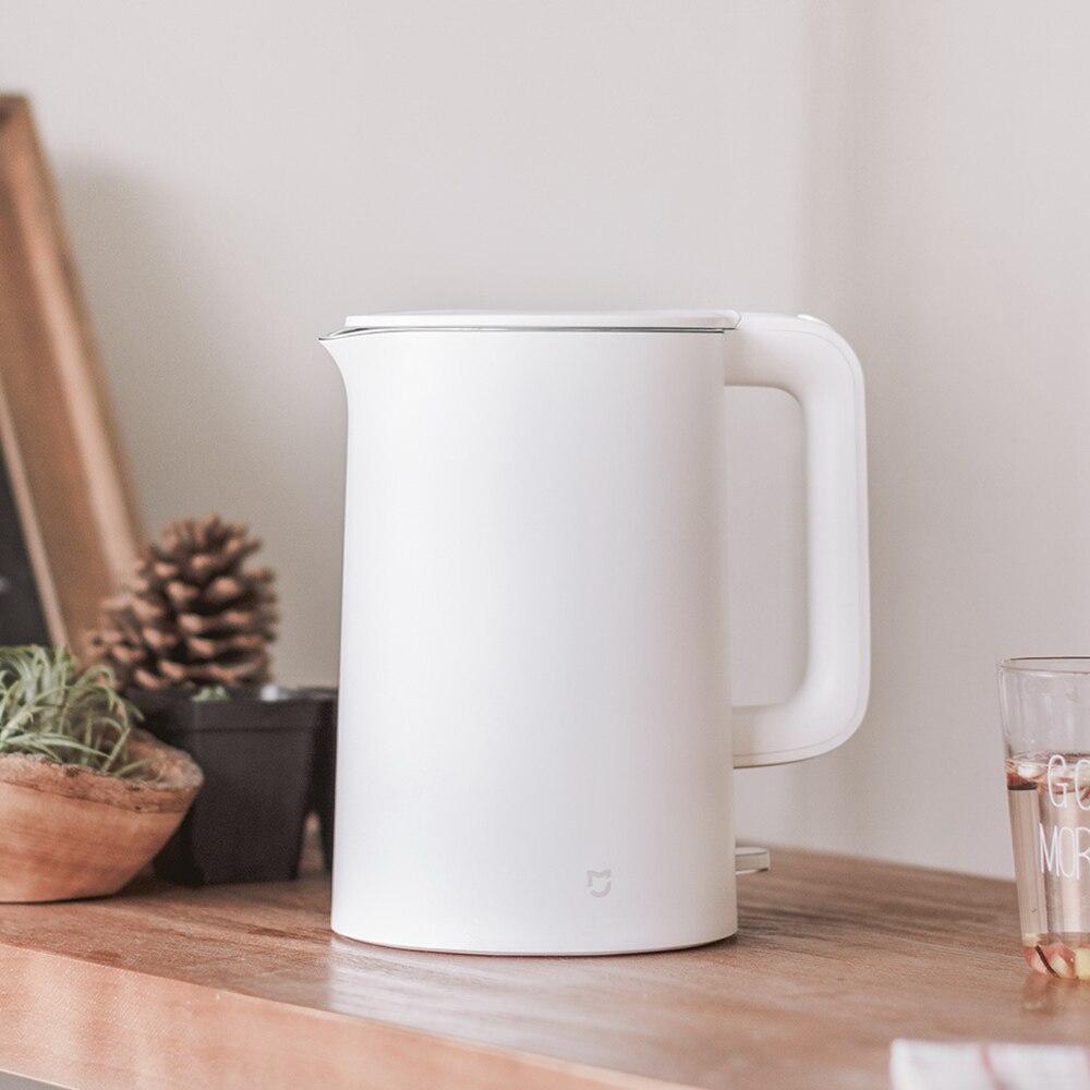 Оригинальный Xiaomi Mijia 1.5L электрический чайник для воды Автоматическая защита от отключения проводной Ручной мгновенный нагрев Электрически...