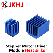 цена 5pcs/lot 3D Printer Parts A4988 DRV8825 LV8729 TMC2100 TMC2208 Stepper Motor Driver Module Heat sinks Cooling Block Heatsink