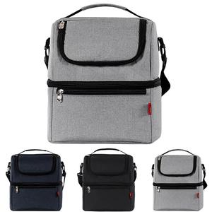 Image 2 - Simple et élégant Thermo sacs à déjeuner boîte à déjeuner thermique pour enfants sac de nourriture sac de pique nique sac à main refroidisseur isolé boîte à déjeuner