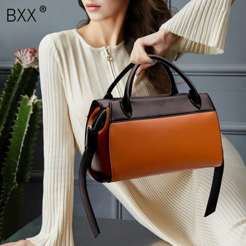 BXX 2019 Women Hit Colors Bag Fashion Casual Package Luxury Handbag Designer Women Shoulder Bags