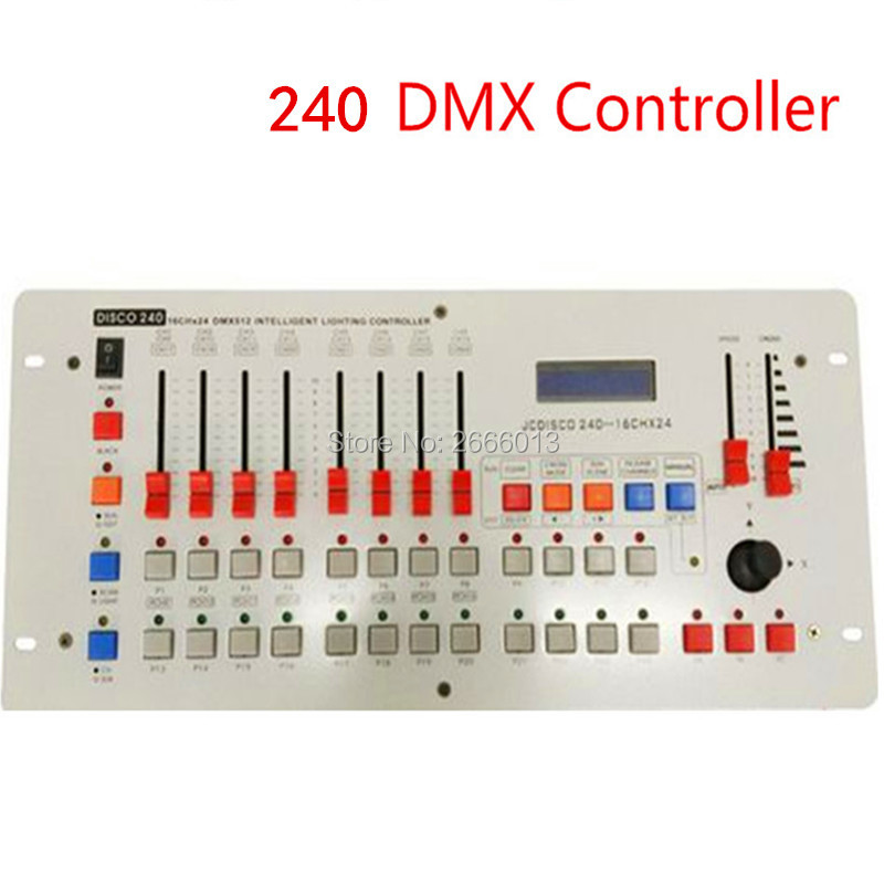 Professional 240 Disco DMX Controller/DMX512 DJ Lighting Console/Stage Wedding And Event Stage Effect Lighting Control Equipment