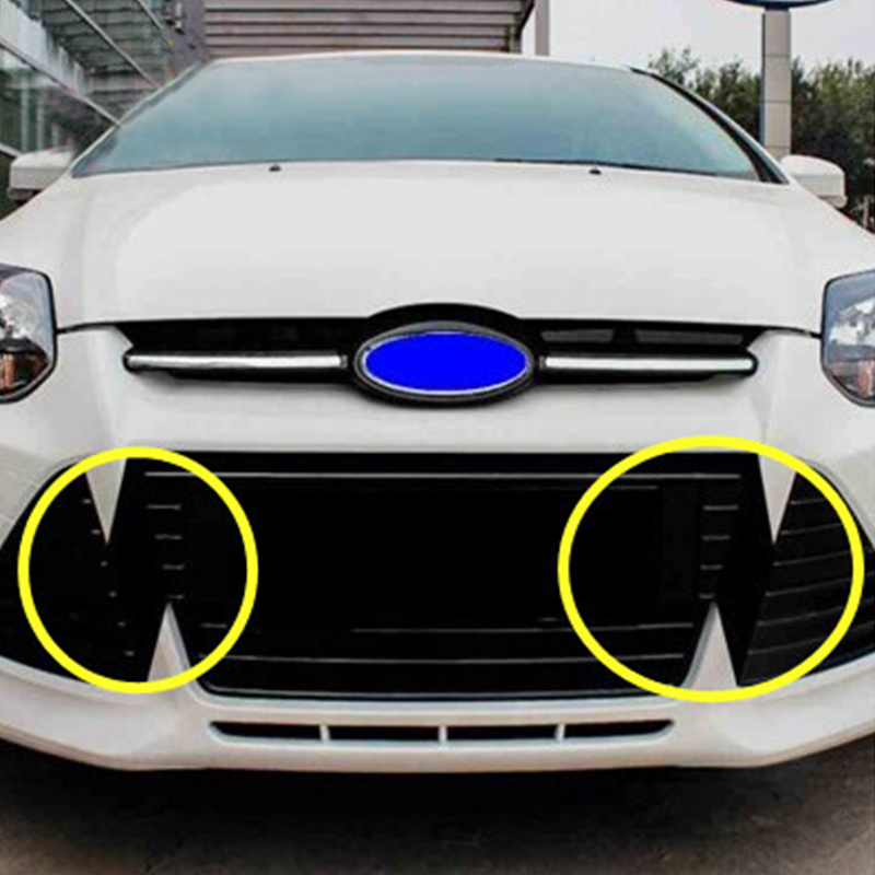 Carbon-Fiber-Sticker Grille-Accessories Focus Ford My Good-Car 3-Mk3