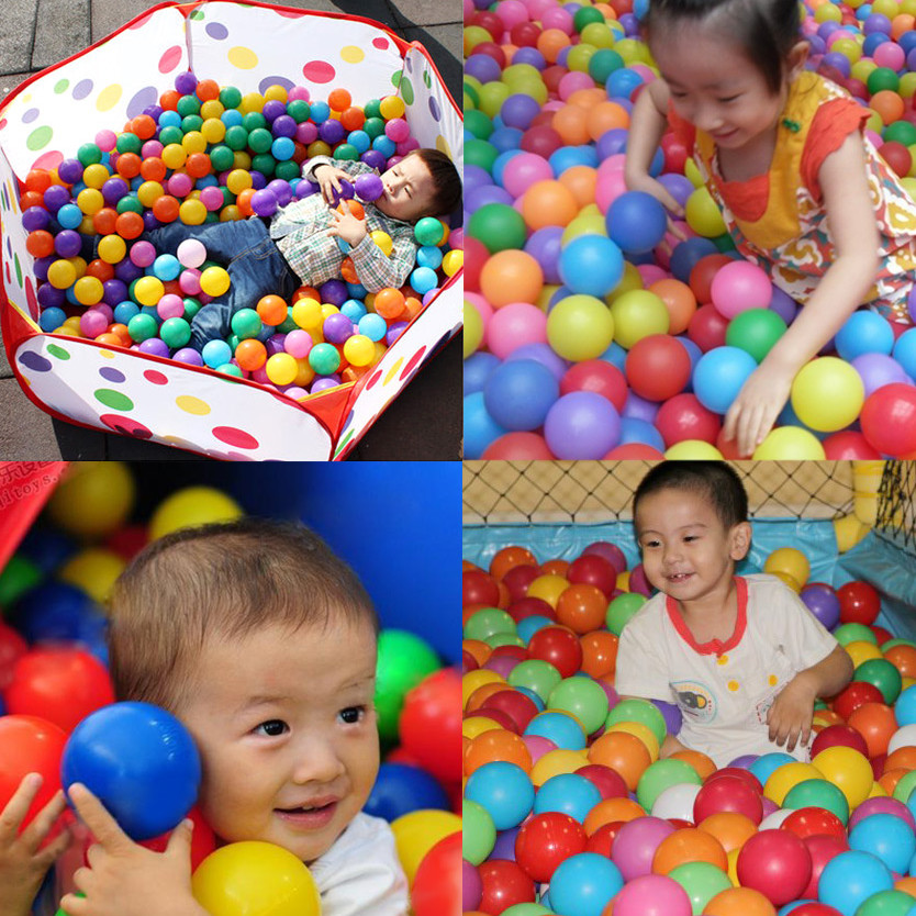Home Appliances Discreet 100 Pcs/lot Eco-friendly Colorful Ball Soft Plastic Ocean Ball Funny Baby Kid Swim Pit Toy Water Pool Ocean Wave Ball Dia 5.5cm Perfect In Workmanship Home Appliance Parts