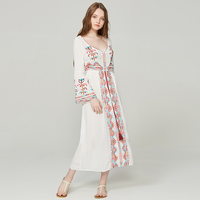 veil national wind white dress