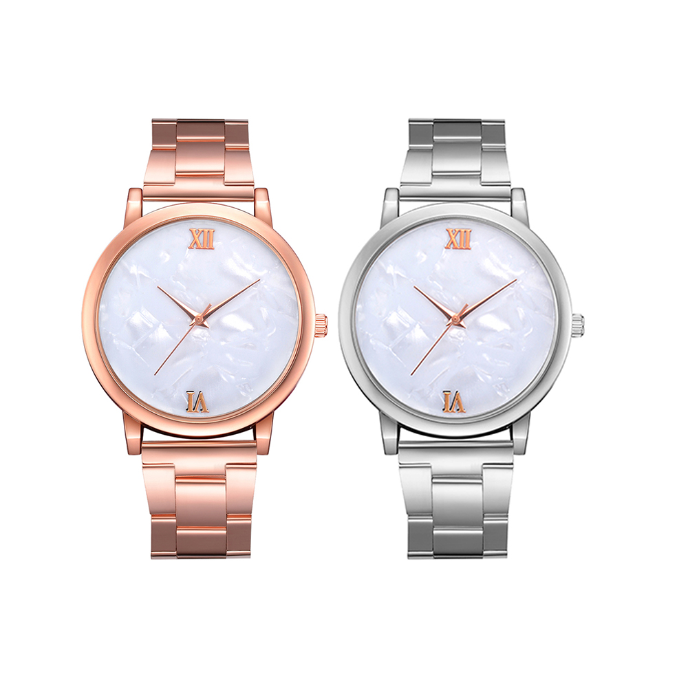 New Couple Watch New Quartz Watch Fashion Casual Valentine's Day Gift Watches Relogio Feminino Stainless Steel Band Watch